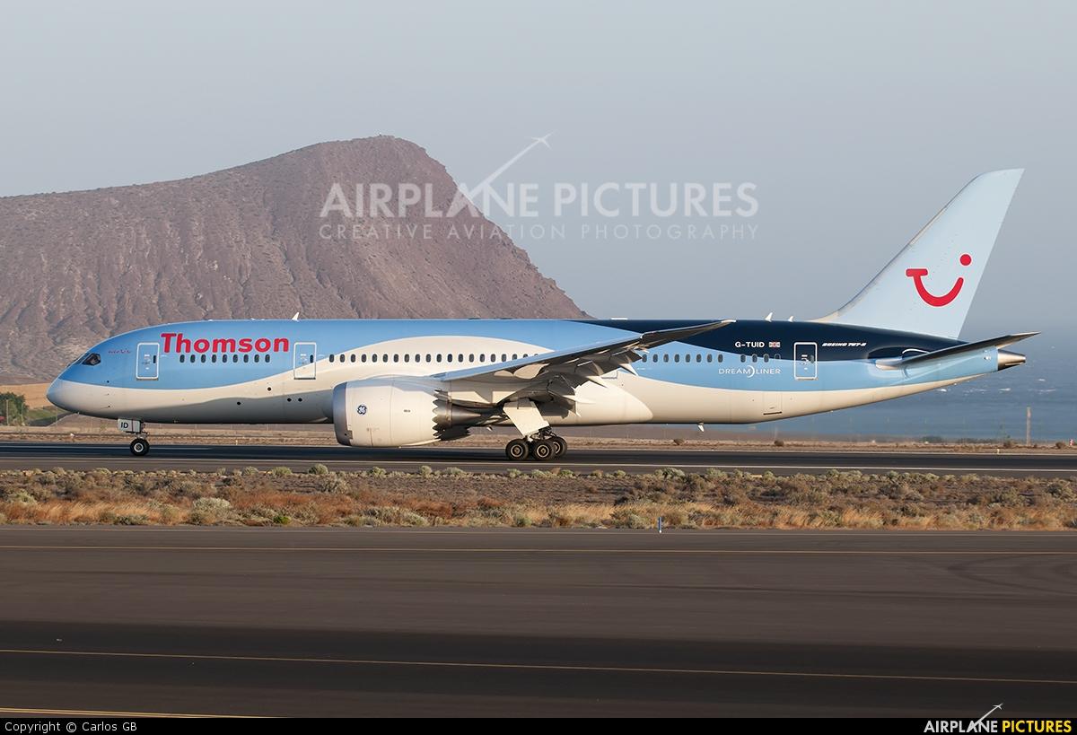 Thomson/Thomsonfly G-TUID aircraft at Tenerife Sur - Reina Sofia