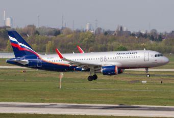 VQ-BPV - Aeroflot Airbus A320