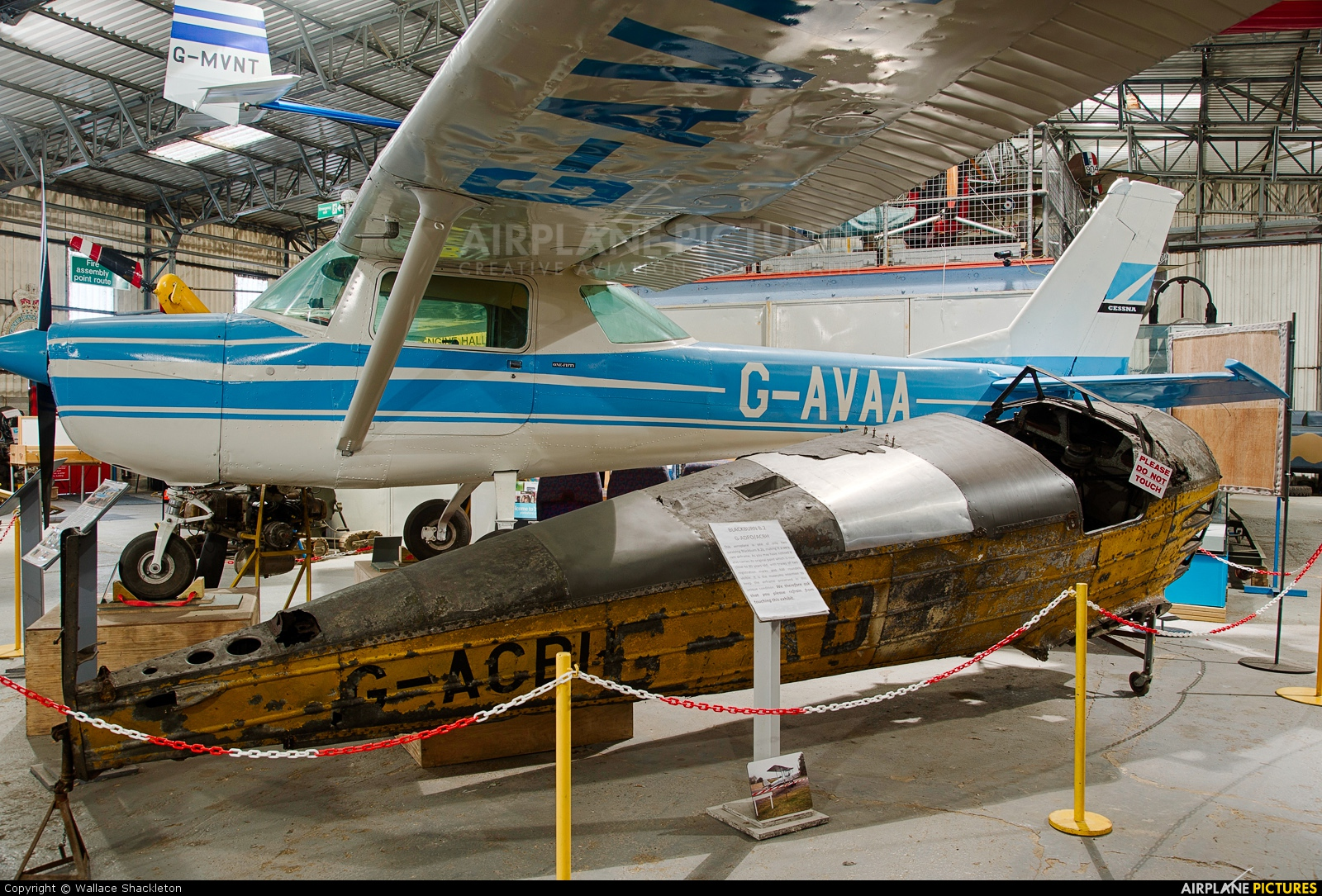 South Yorkshire Aircraft Museum >> G-ACBH - Private Blackburn B2 at Doncaster SYAM | Photo ID ...
