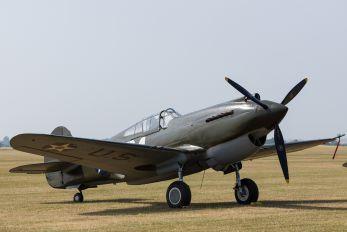 G-CDWH - Patina Curtiss P-40B Warhawk
