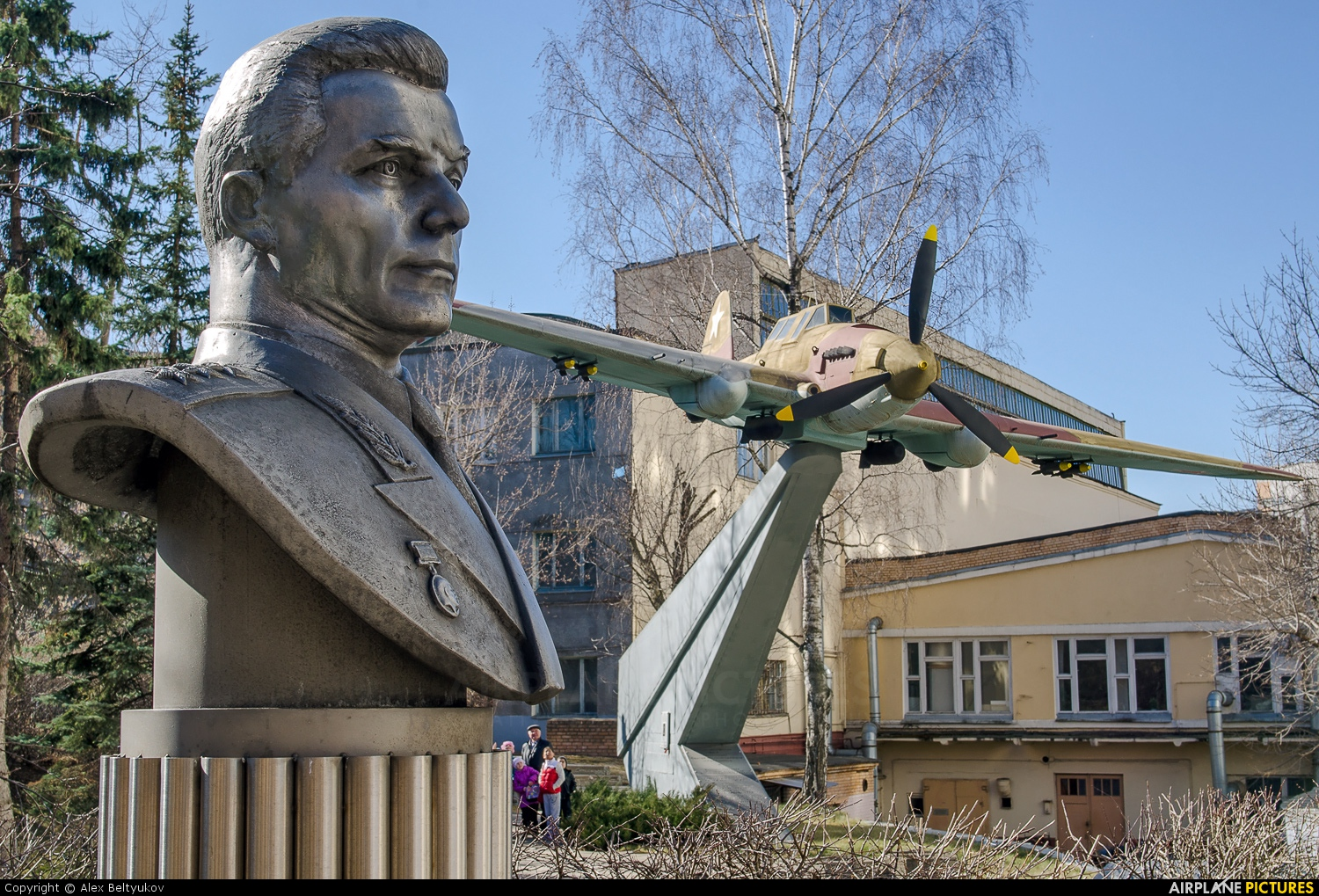 Russia - Air Force - aircraft at Moscow - Khodynskoe Pole