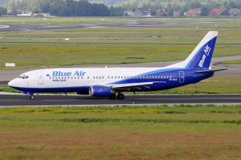 YR-BAK - Blue Air Boeing 737-400