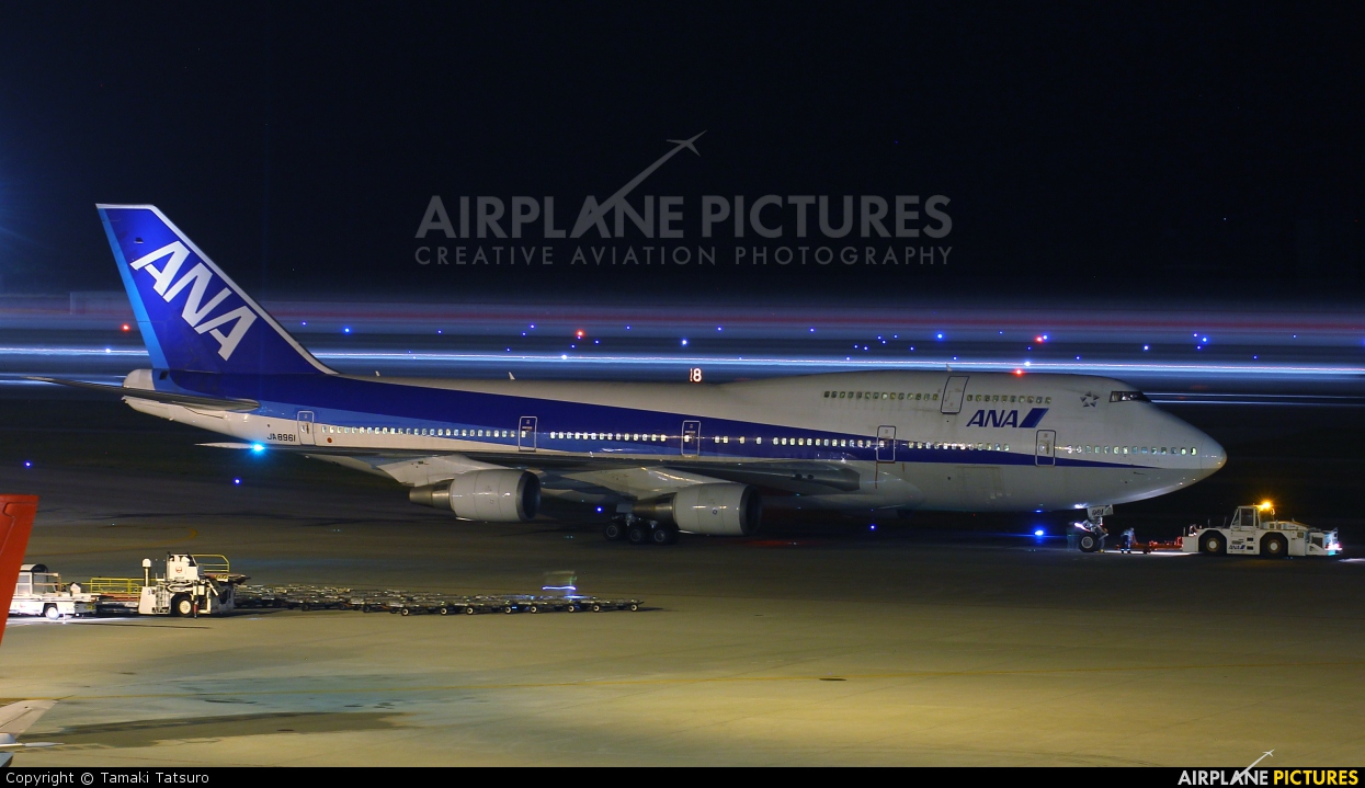 ANA - All Nippon Airways JA8961 aircraft at Naha