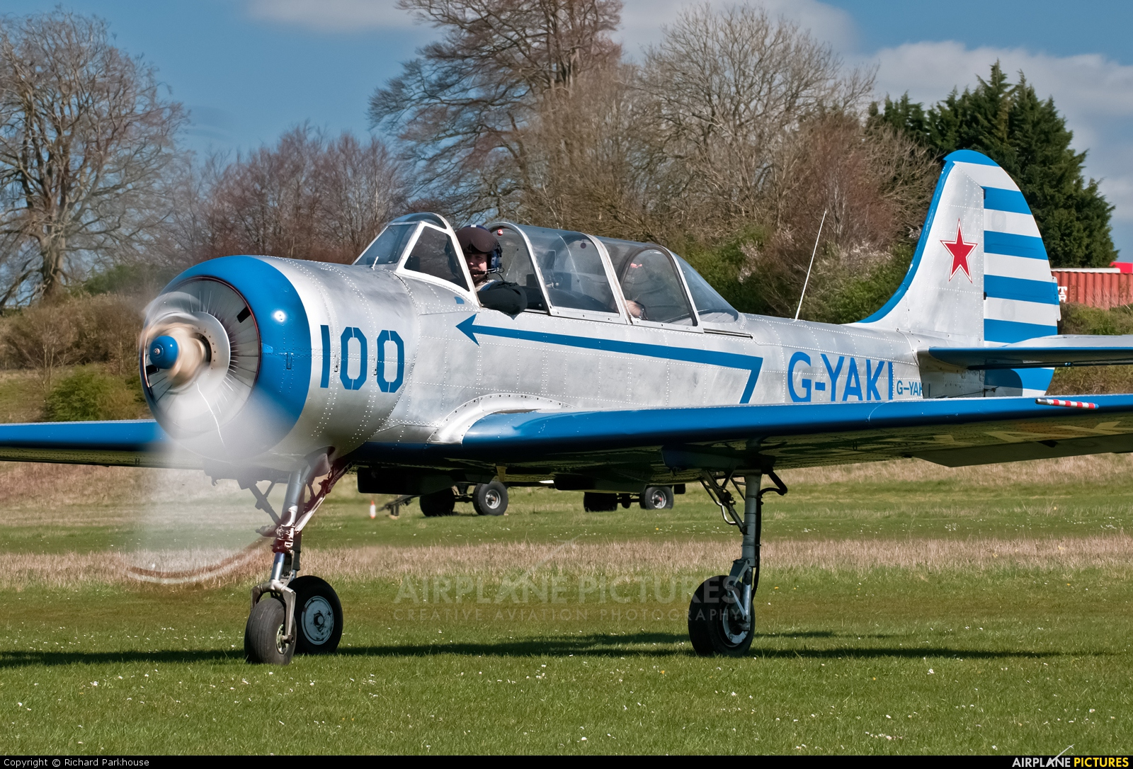 Private G-YAKI aircraft at Popham