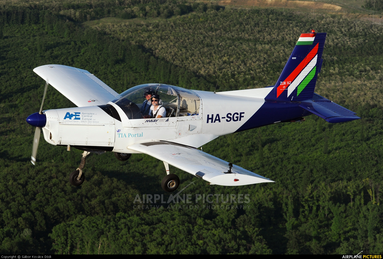 Malév Aero Club HA-SGF aircraft at In Flight - Hungary
