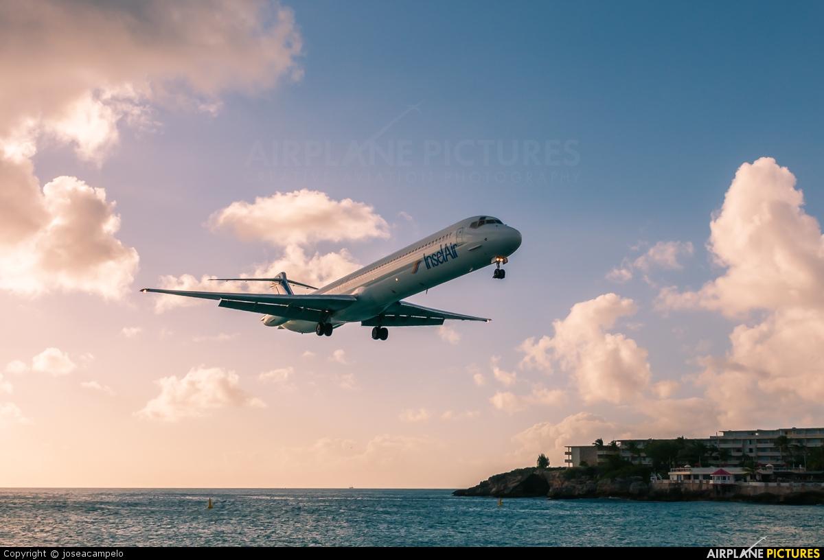 Insel Air - aircraft at Sint Maarten - Princess Juliana Intl