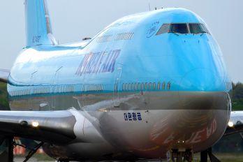 HL7402 - Korean Air Boeing 747-400
