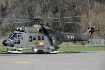 T-315 - Switzerland - Air Force Aerospatiale AS332 Super Puma