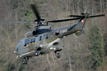 T-340 - Switzerland - Air Force Aerospatiale AS532 Cougar