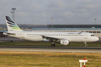 YL-LCA - Windavia Airbus A320