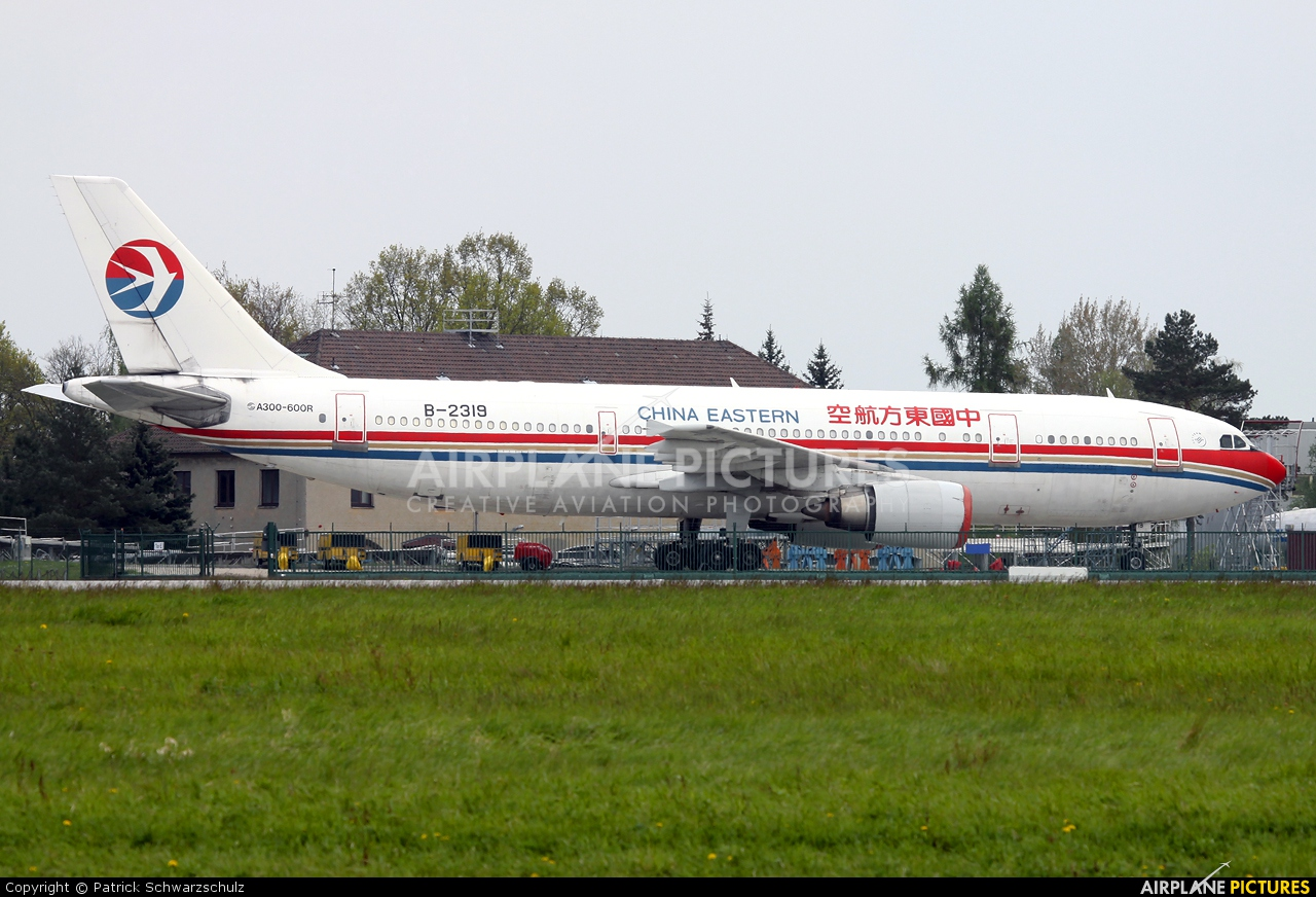 China Eastern Airlines B-2319 aircraft at Dresden
