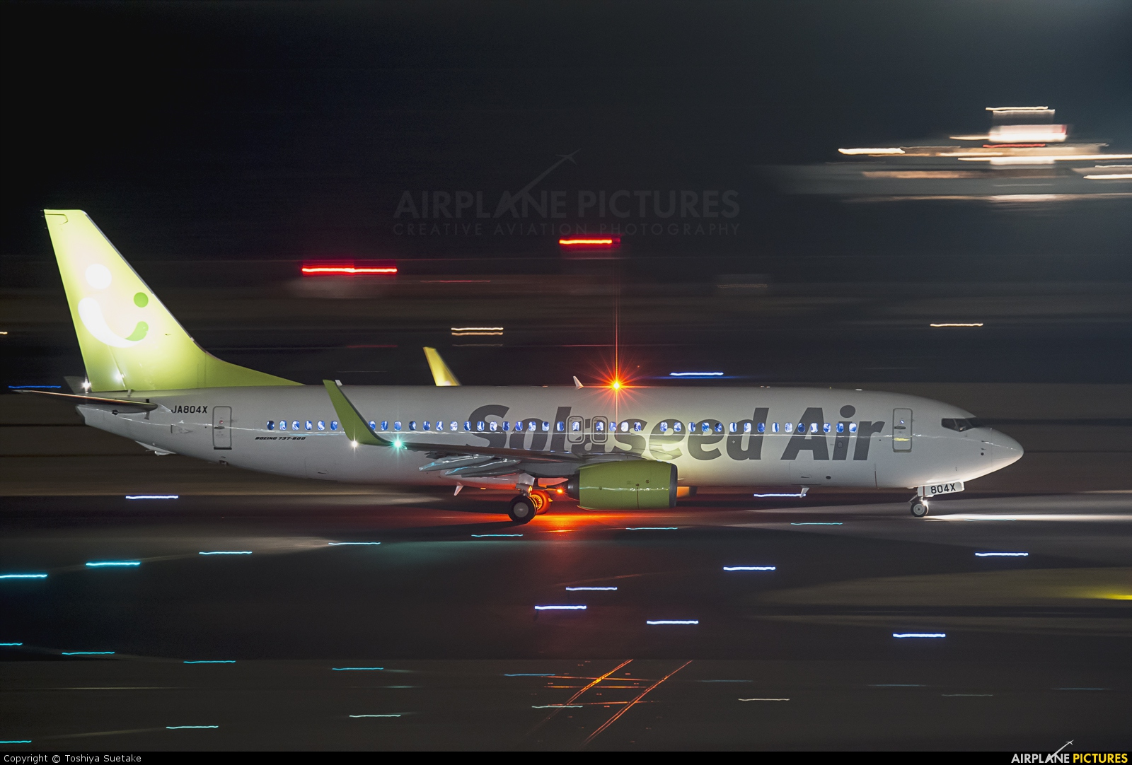 Solaseed Air - Skynet Asia Airways JA804X aircraft at Tokyo - Haneda Intl