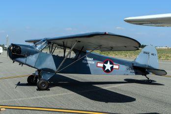 N42869 - Private Piper J3 Cub