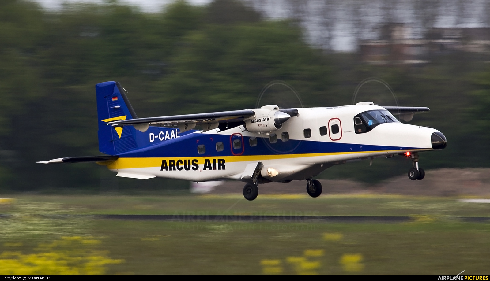 Arcus Air D-CAAL aircraft at Rotterdam