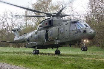 ZJ121 - Royal Air Force Agusta Westland AW101 411 Merlin HC.3