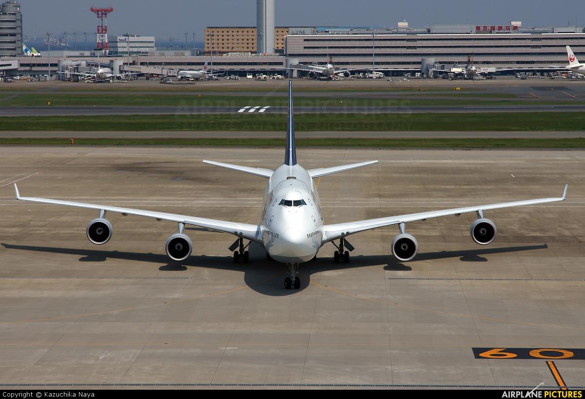 Lufthansa D-ABVH aircraft at Tokyo - Haneda Intl