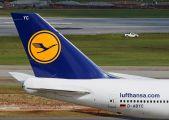 D-ABYC - Lufthansa Boeing 747-8 aircraft