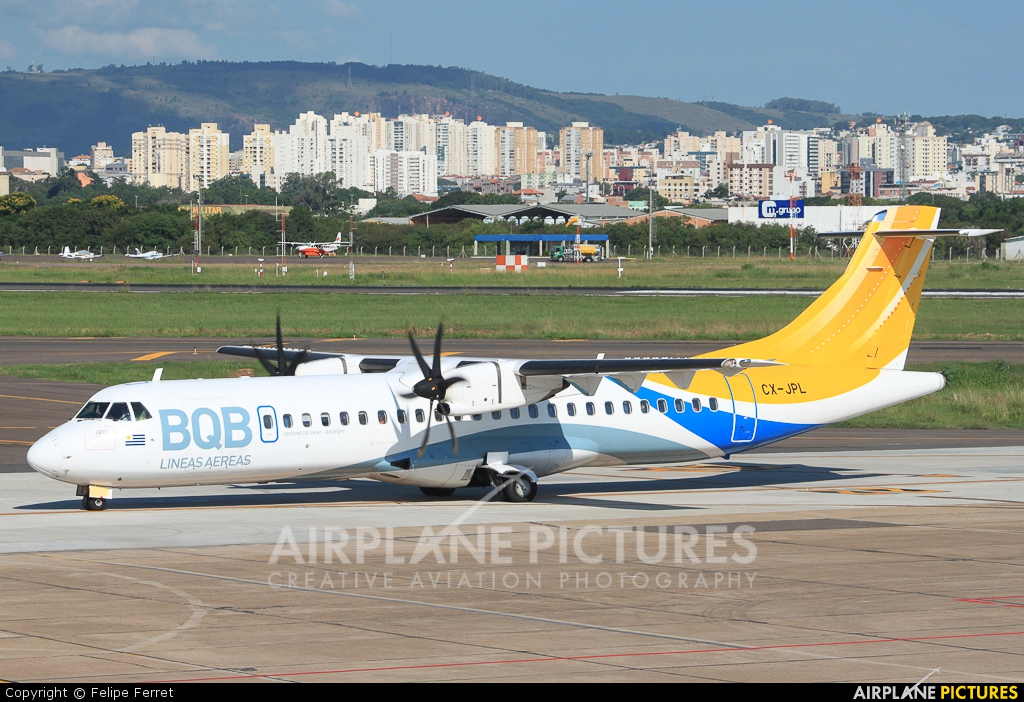 BQB Lineas Aereas CX-JPL aircraft at Porto Alegre - Salgado Filho