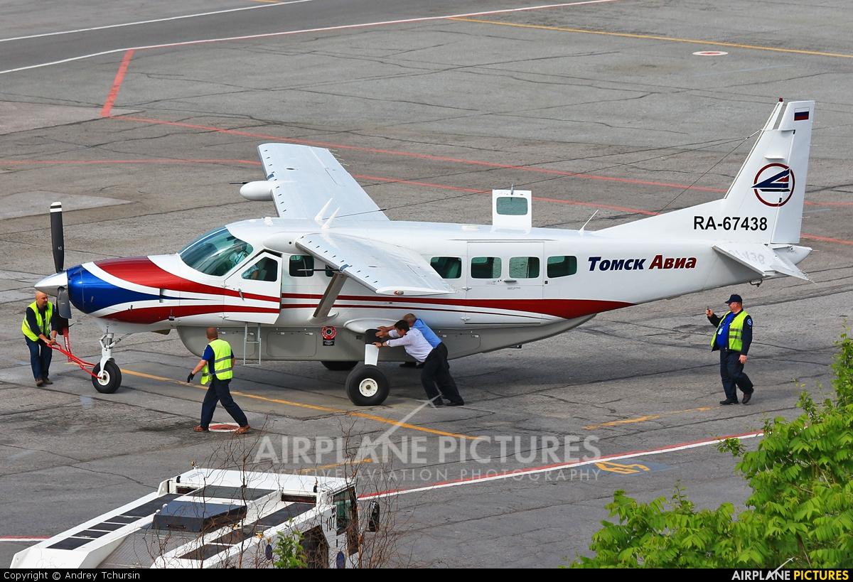 Tomsk Avia RA-67438 aircraft at Novosibirsk