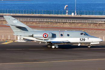 129 - France - Navy Dassault Falcon 10MER