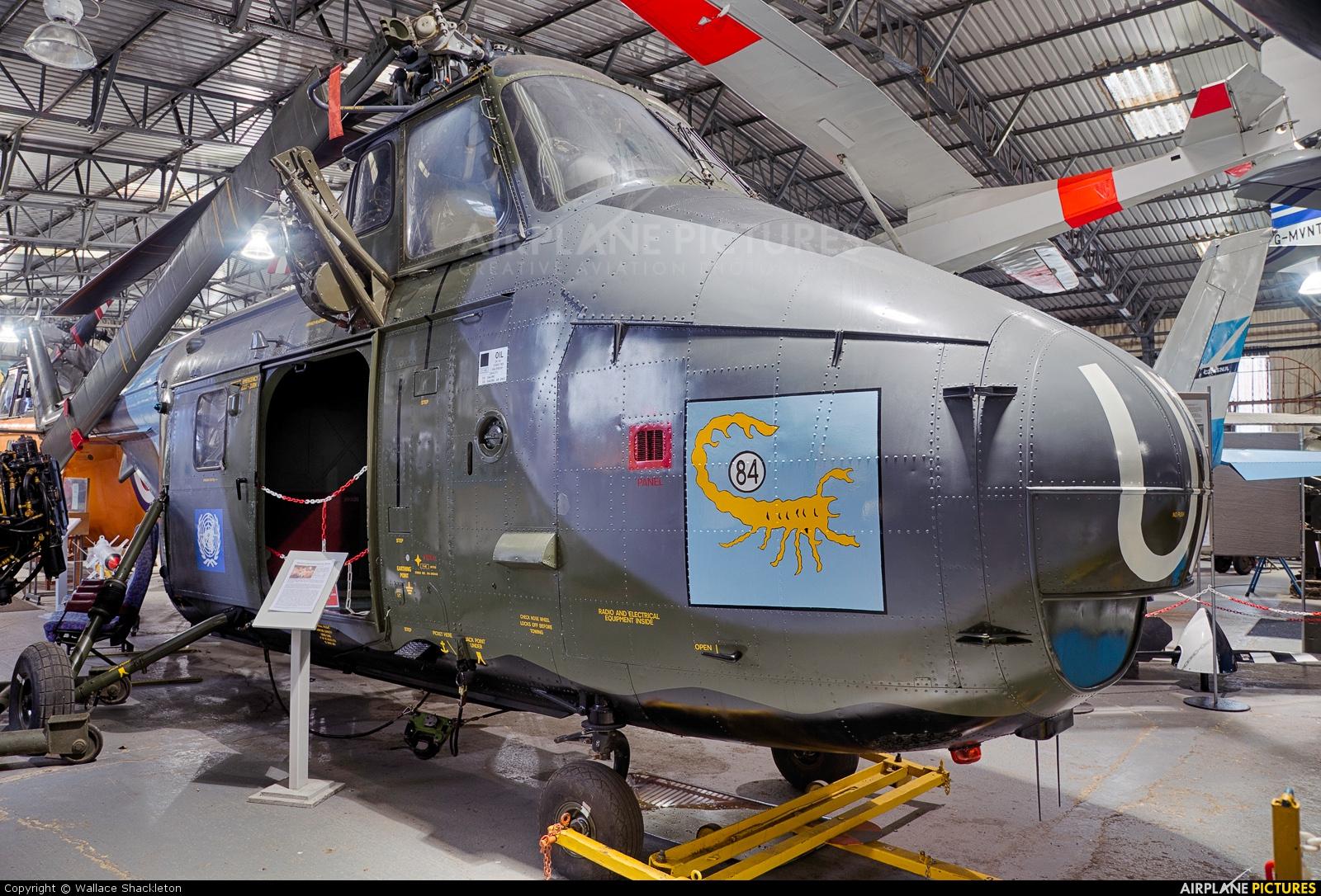 Royal Air Force XP345 aircraft at Doncaster SYAM
