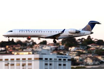 N767SK - United Express Canadair CL-600 CRJ-701