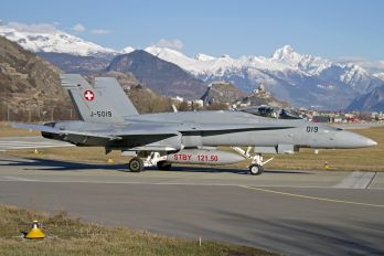 J-5019 - Switzerland - Air Force McDonnell Douglas F/A-18C Hornet