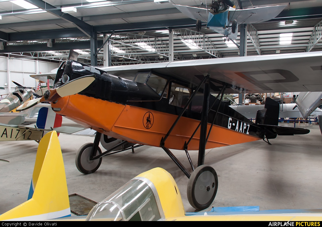 The Shuttleworth Collection G-AAPZ aircraft at Old Warden