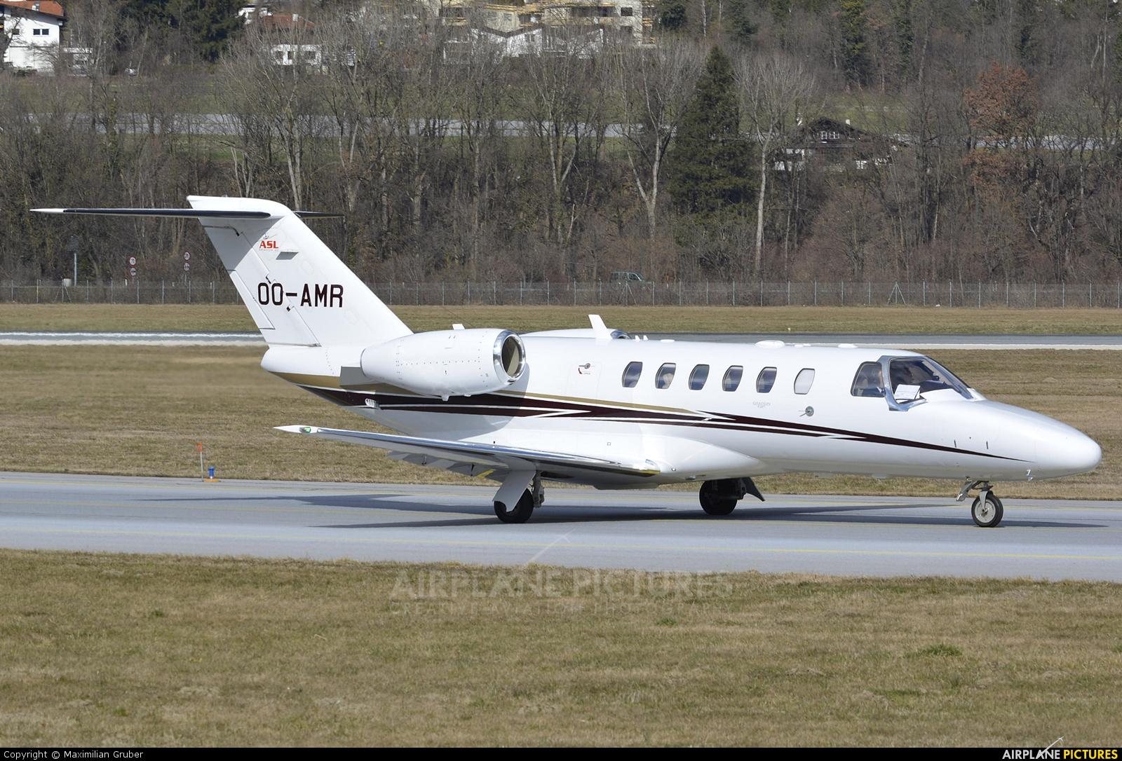 Air Service Liege OO-AMR aircraft at Innsbruck