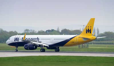 G-ZBAM - Monarch Airlines Airbus A321