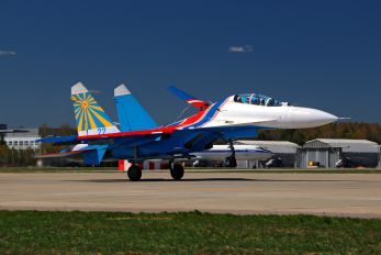 "22 - Russia - Air Force ""Russian Knights"" Sukhoi Su-27UB"