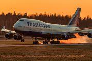 VP-BVR - Transaero Airlines Boeing 747-400 aircraft