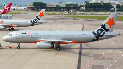 9V-JSE - Jetstar Asia Airbus A320
