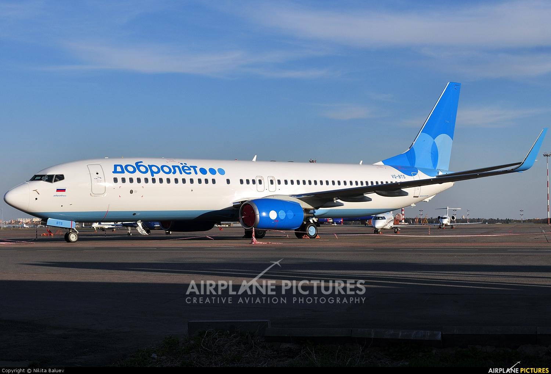 Dobrolet VQ-BTS aircraft at Moscow - Sheremetyevo