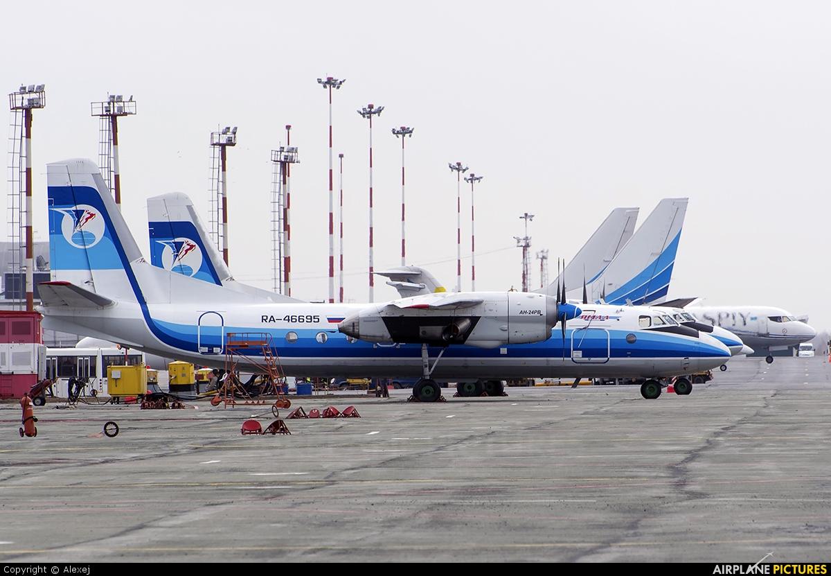 Yamal Airlines RA-46695 aircraft at Tyumen-Roschino
