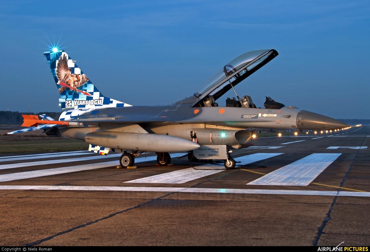 Belgium - Air Force FB-24 aircraft at Kleine Brogel