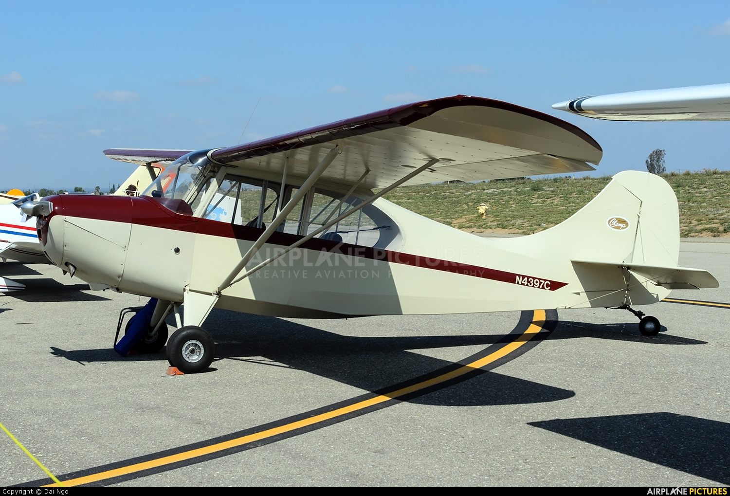 Private N4397C aircraft at Riverside Municipal