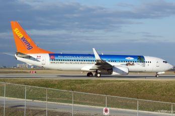C-GKVY - Sunwing Airlines Boeing 737-800