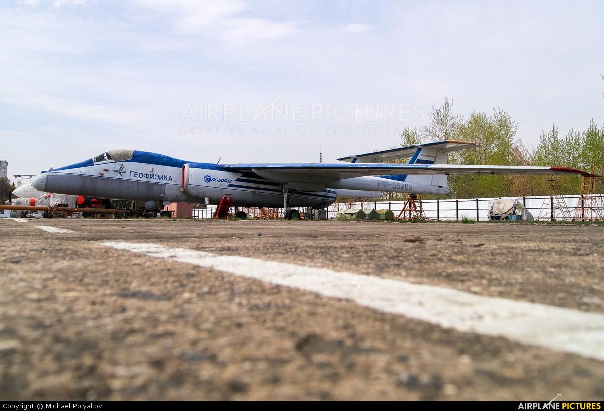 Myasishchev Design Bureau RF-55203 aircraft at Ramenskoye - Zhukovsky