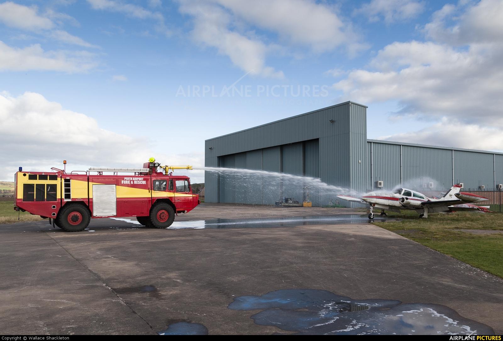 Private G-BGXK aircraft at Perth - Scone