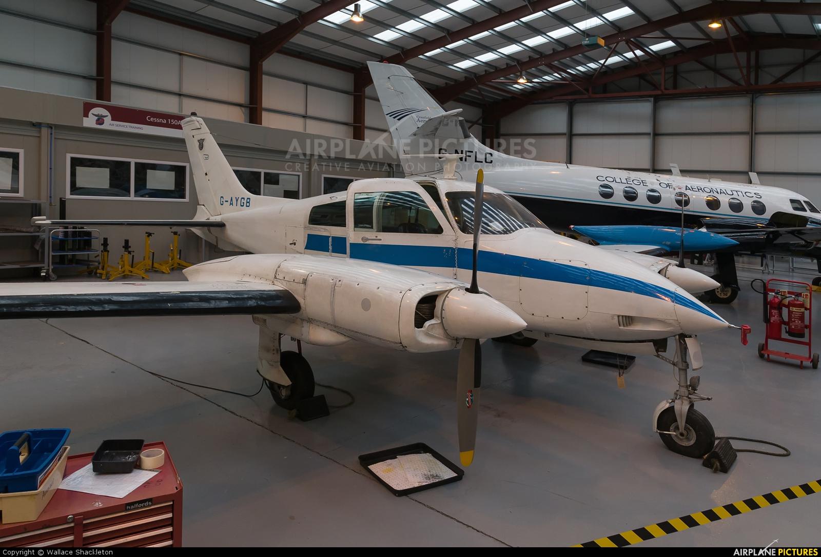 Airwork G-AYGB aircraft at Perth - Scone