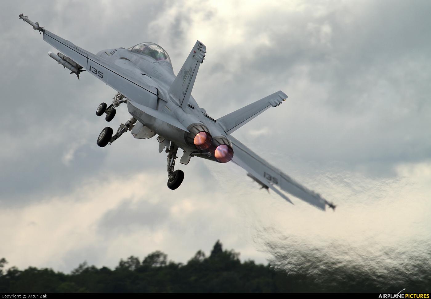 USA - Navy 166790 aircraft at Fairford