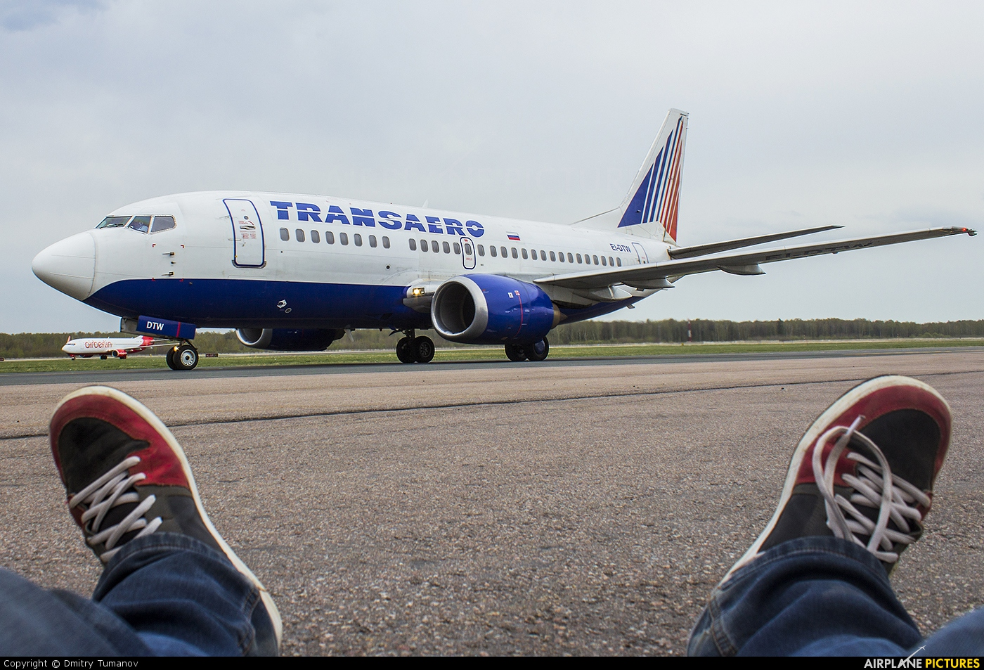 Transaero Airlines EI-DTW aircraft at Moscow - Domodedovo