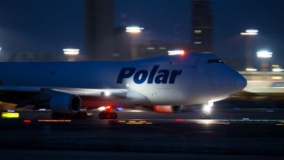 N416MC - Polar Air Cargo Boeing 747-400F, ERF
