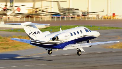 PT-MJC - Private Cessna 525 CitationJet