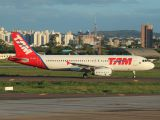 PR-MBA - TAM Airbus A320 aircraft