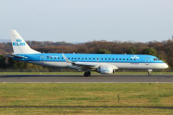 PH-EZE - KLM Cityhopper Embraer ERJ-190 (190-100)