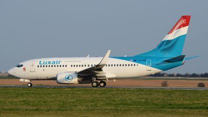 LX-LGQ - Luxair Boeing 737-700