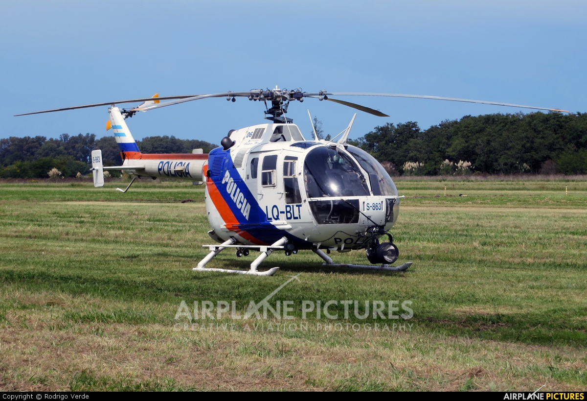 Argentina - Police LQ-BLT aircraft at General Rodríguez