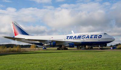 VP-BGX - Transaero Airlines Boeing 747-300